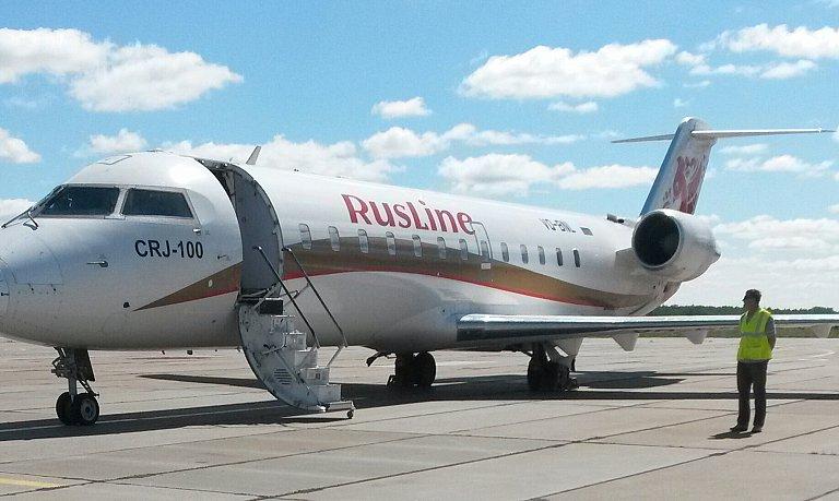 Региональный полет Урай -Москва