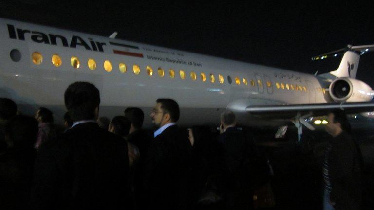 Тегеран-Шираз с IranAir