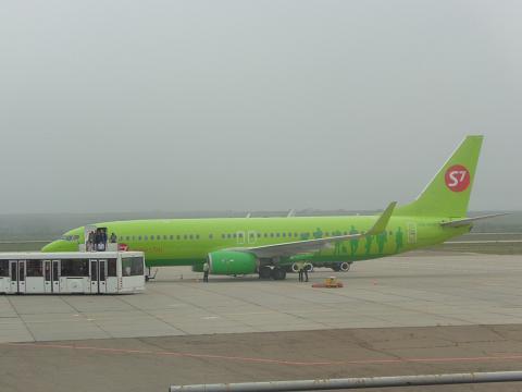Летний отпуск. Часть 1 - Чита (Кадала - HTA) - Москва (Домодедово - DME) c S7 Airlines на Б-737-800