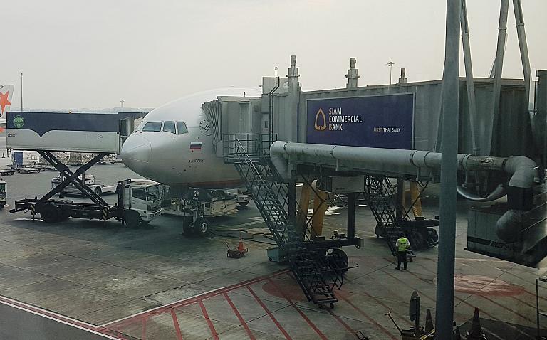 Москва (Шереметьево-F/SVO) - Бангкок (Суварнабхуми/BKK) на Boeing 777-300