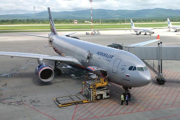Перелет Владивосток-Москва с Аэрофлотом
