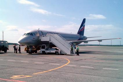 Москва-Самара на SSJ-100