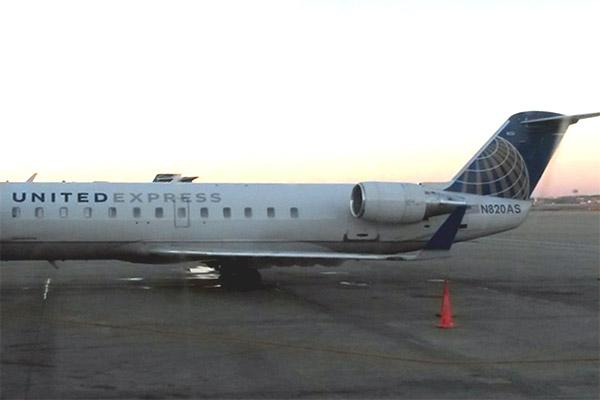 Атланта - Денвер на CRJ700 GoJet Airlines (United) или мой лучший полет в жизни на CRJ!