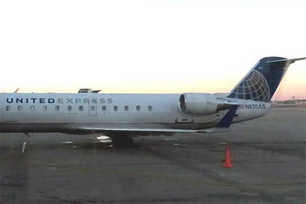 Фотообзор полета на самолете Bombardier CRJ-700