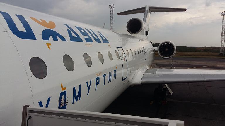 Из Ижевска в Симферополь на Як-42