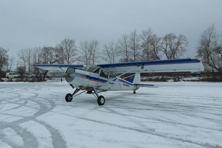 Полет на Як-12 в Лихославле