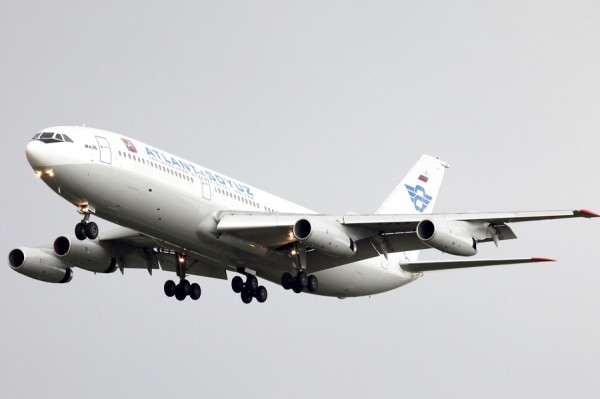 Полёт на ил-86 авиакомпанией Атлант-союз
