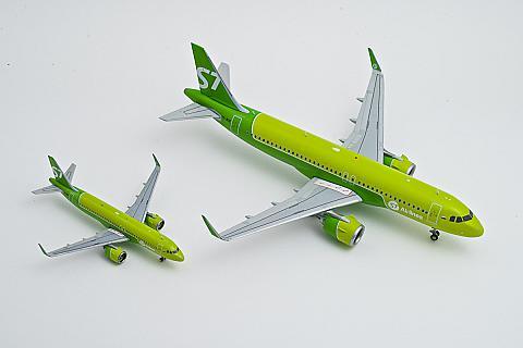 GeminiJets: модели самолетов Airbus A320neo авиакомпании S7 Airlines