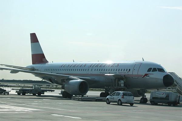 Барселона - Вена с Austrian Airlines (часть 2)