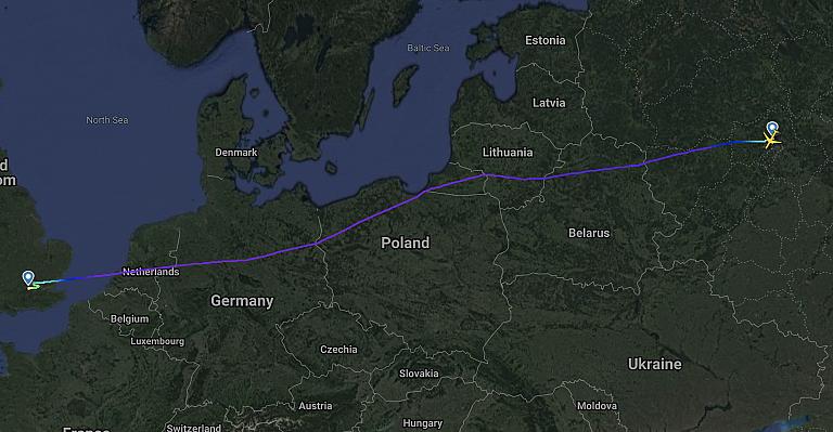 Москва - Лондон с Аэрофлотом