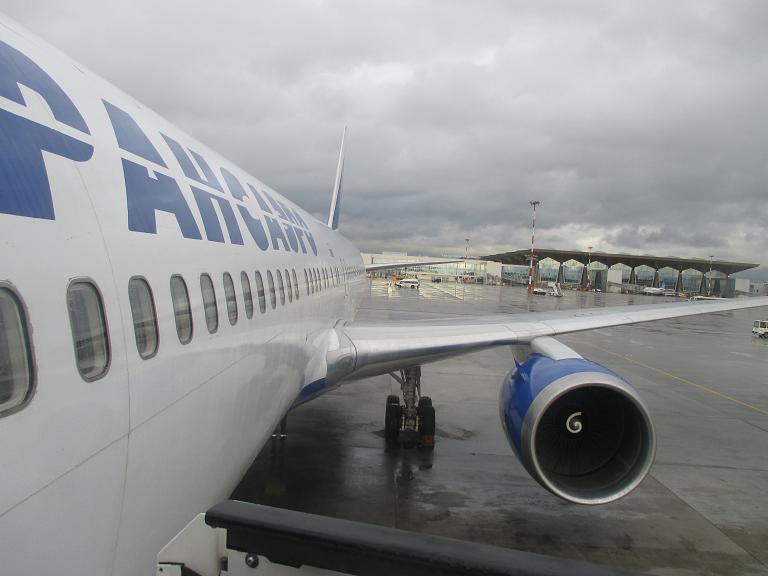Москва-Санкт-Петербург-Москва с Трансаэро на Боинг 747-446 и Боинг 767-319