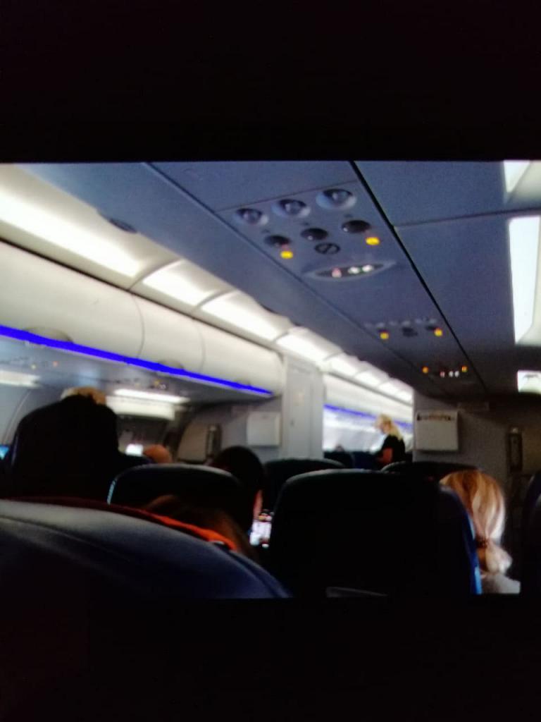 Москва -Рим на A321. Аэрофлот.  Продолжение.