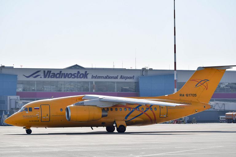 Споттинг в аэропорту Владивосток-Кневичи