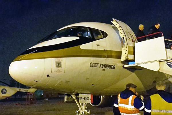Фотообзор полета на самолете Сухой Суперджет-100