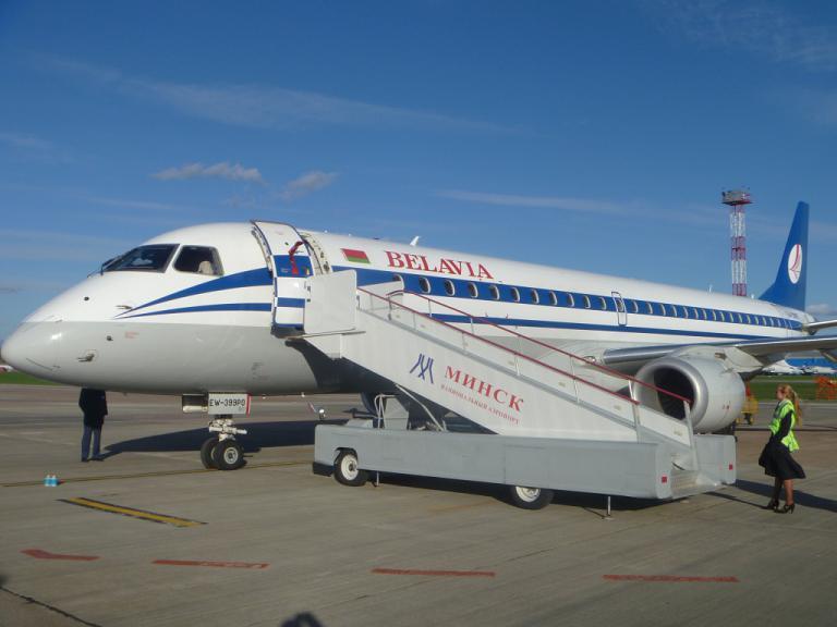 Фотообзор полета на самолете Embraer 195