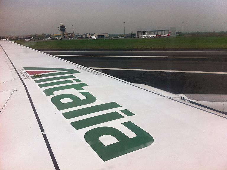 Перелет из Москвы во Флоренцию: Часть третья. Флоренция-Рим с Alitalia