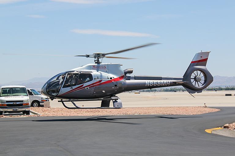 На вертолете над Лас-Вегасом и Гранд-Каньоном