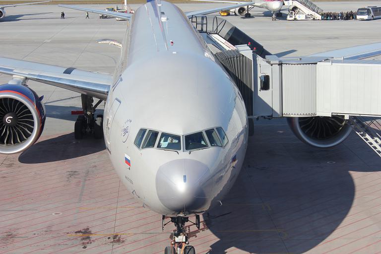Владивосток-Москва. Аэрофлот. Боинг 777-300