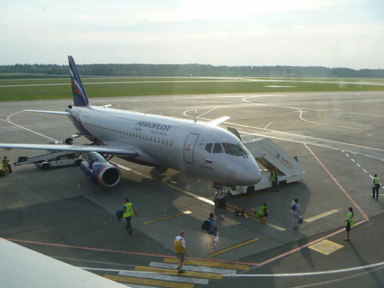 Европейский voyage. Часть 1. Минск-Москва (SVO/F) на Sukhoi Superjet 100 АЭРОФЛОТ