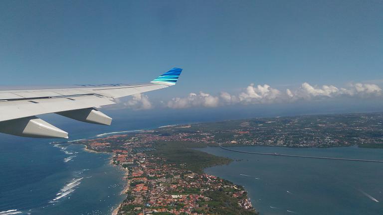 Из Денпасара (DPS) в Джакарту (CGK) в эконом-классе с Garuda Indonesia
