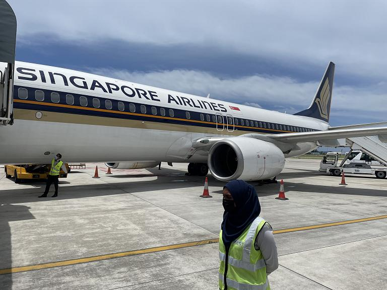 Перелёт Мале – Сингапур на Боинге-737