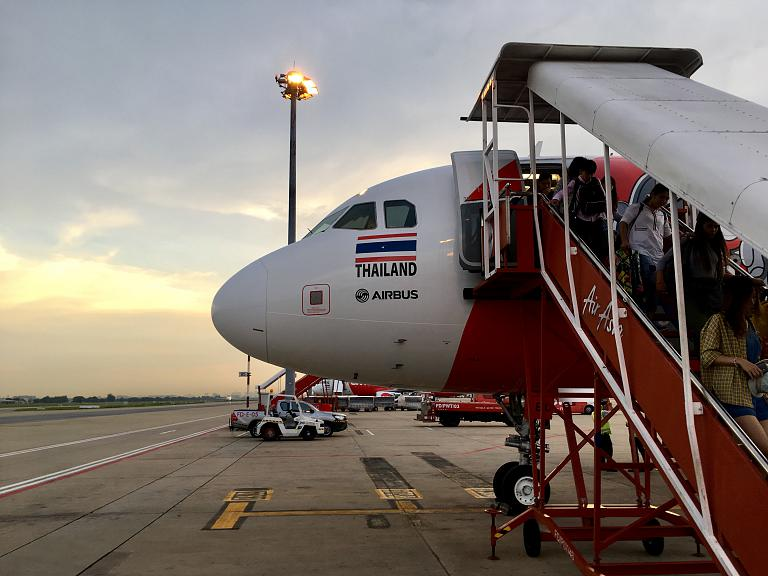 Краби - Бангкок с AirAsia