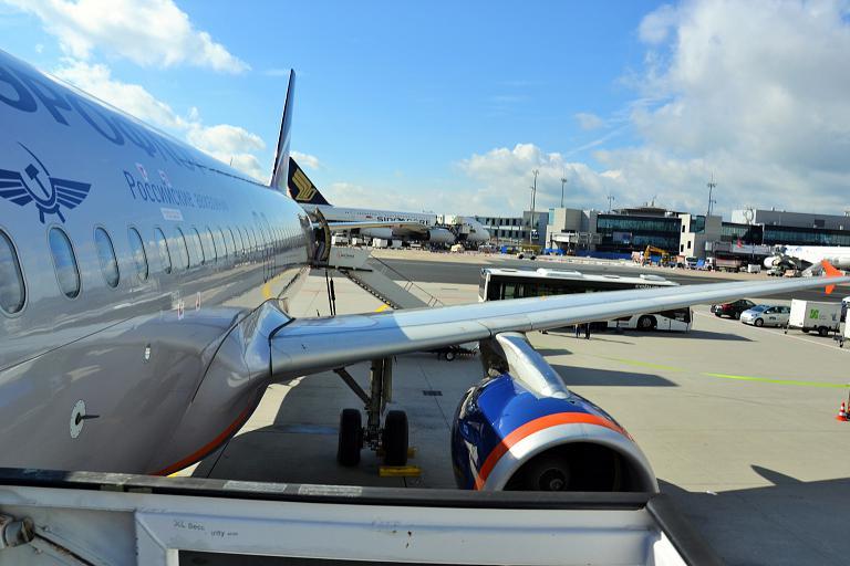 Фотообзор аэропорта Франкфурт-на-Майне