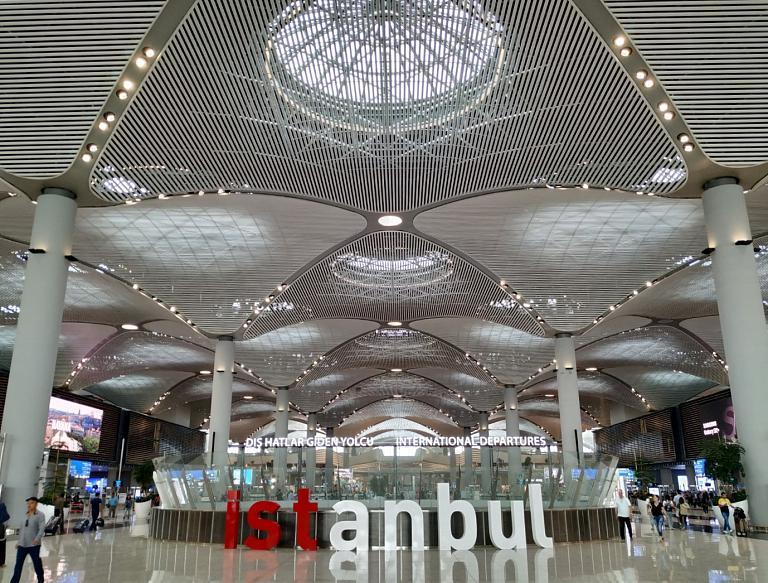 Путевые заметки. Новый аэропорт Стамбула + полет.