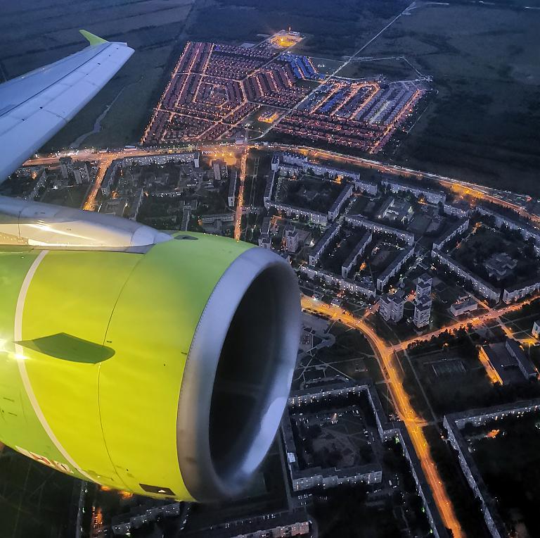 В летнюю сказку Санкт-Петербурга на крыльях Airbus A320 а/к S7
