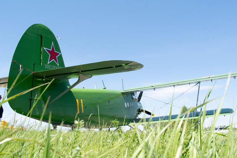 День военно-транспортной авиации на аэродроме