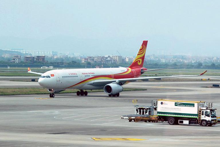 Гуанчжоу – Пекин с Hainan Airlines на Airbus А-330-300