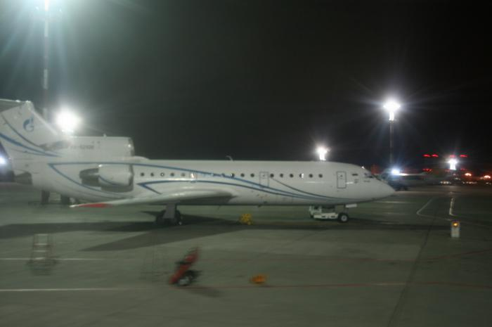 Flight reports of Yakovlev Yak-42