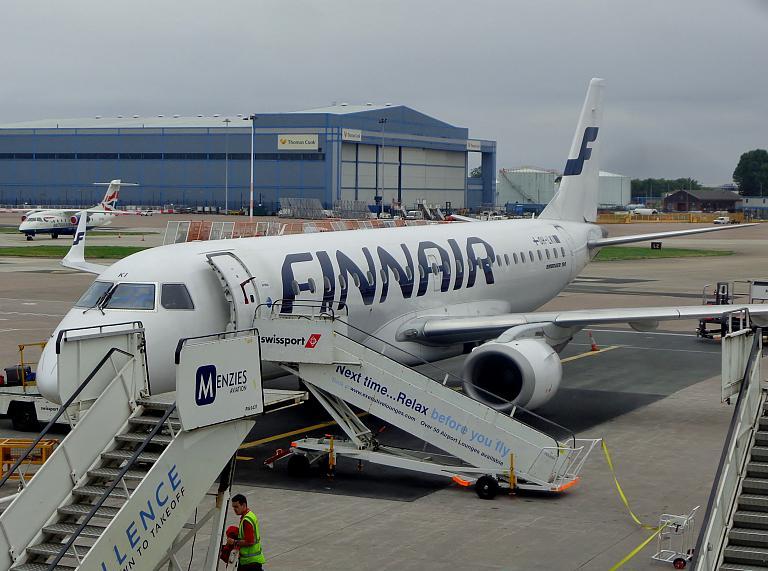 Манчестер-Хельсинки (MAN-HEL) Finnair. Побег чемоданов. Часть 2.