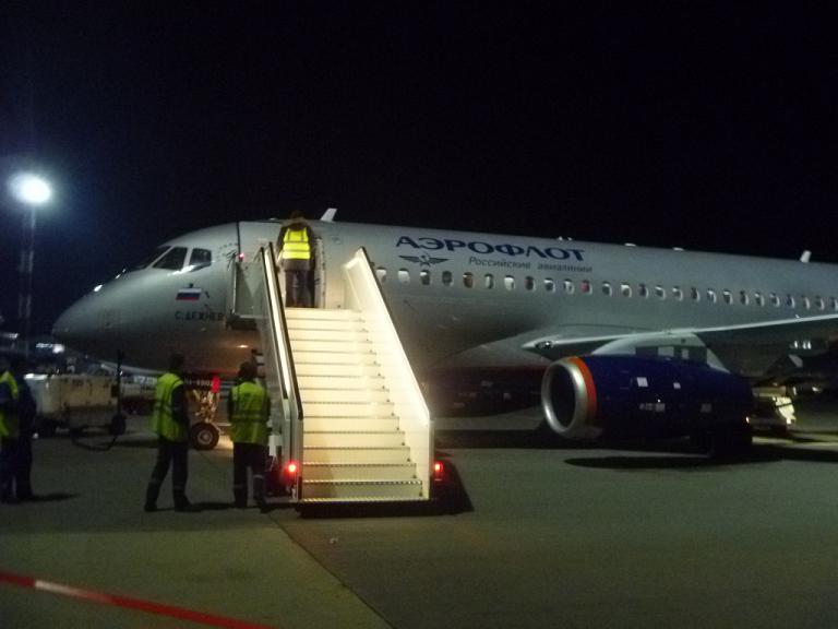 Из Европы в Азию и обратно. Часть 9 (заключительная). Москва (SVO/D) - Минск на Sukhoi Superjet 100 АЭРОФЛОТ.