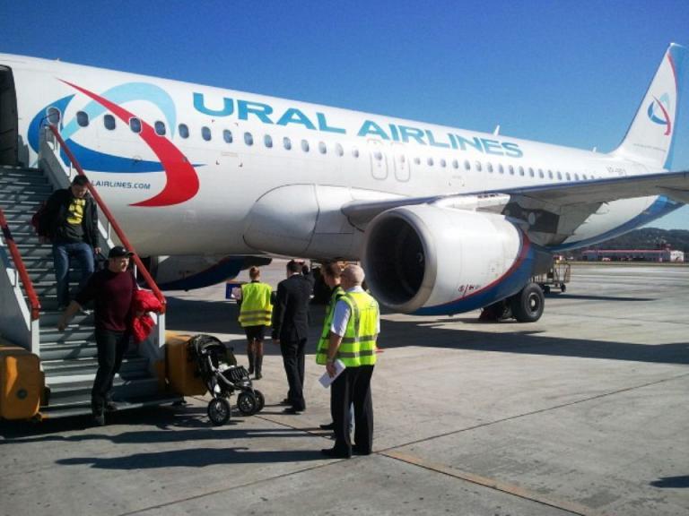 На крыльях мечты в лето на А-320 Уральских авиалиний из Екатеринбурга в Сочи