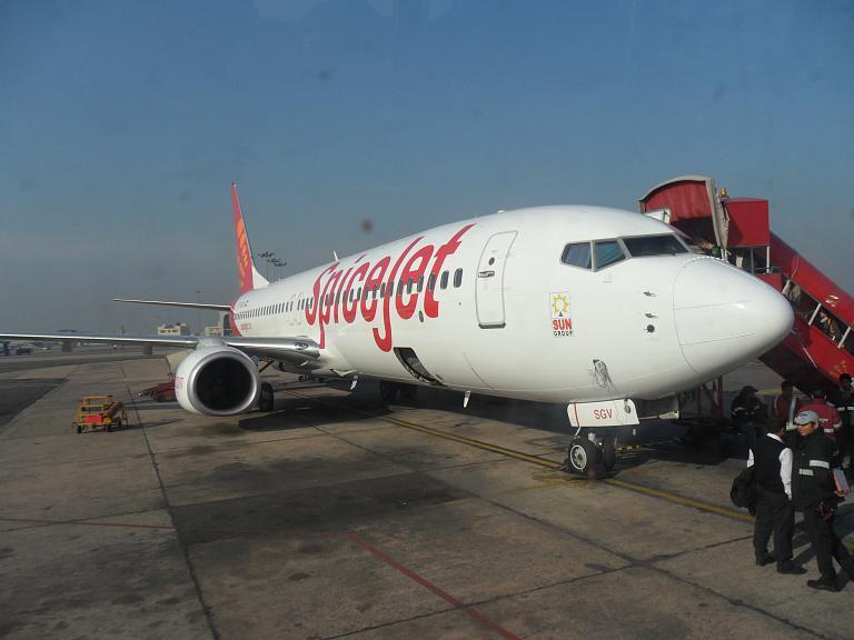 Фотообзор авиакомпании СпайсДжет (SpiceJet)
