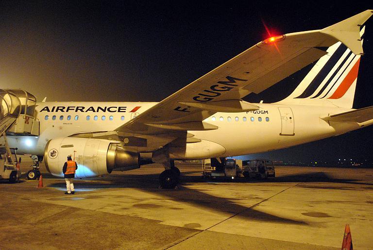 L'Escapade Française: Париж Шарль-де-Голль (CDG/2F) - Милан Линате (LIN) Air France AF1512 на Airbus A318