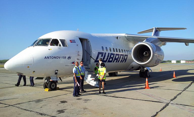 Фотообзор аэропорта Сантьяго-де-Куба Антонио Масео