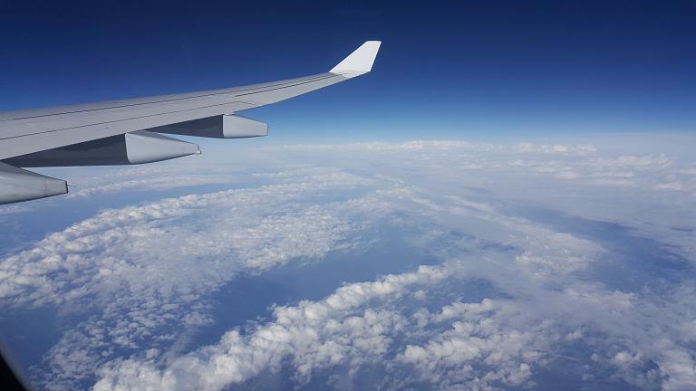 Москва-Мюнхен-Шарлотт Lufthansa