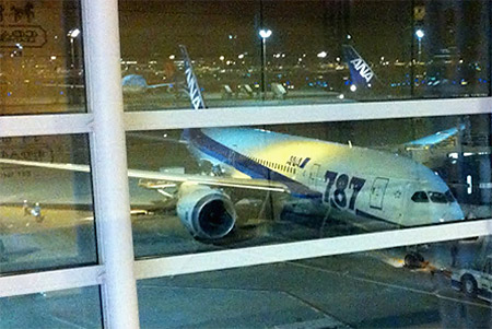 Flight reports of Boeing 787-8