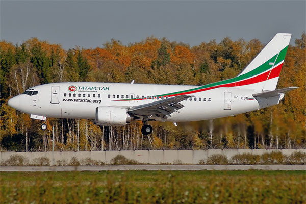Москва-Казань-Москва (авиакомпании Татарстан, ЮТэйр)