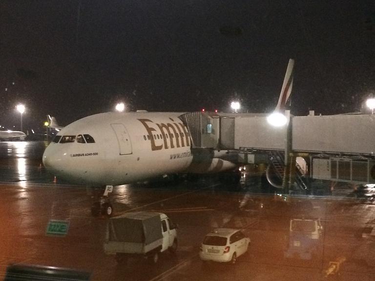 Дубай-Киев Emirates A340-500