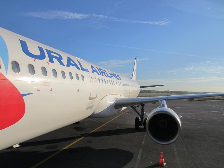 Из Жуковского в Симферополь с Уральскими авиалиниями на A321