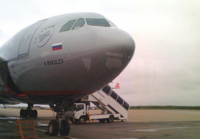 Перелёт Южно-Сахалинск(UUS)-Москва(SVO)