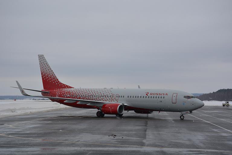 Первый Boeing-737-800 в Калуге