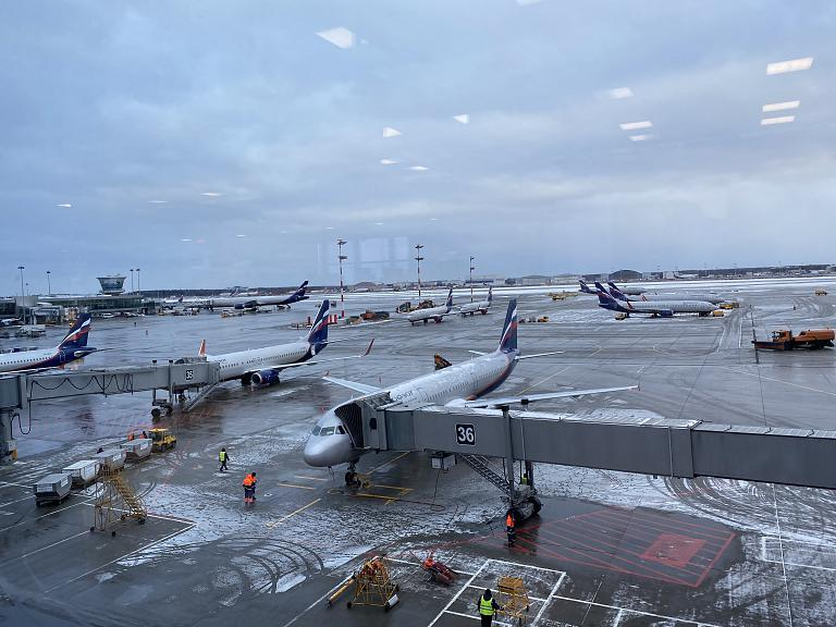 Москва (SVO-E) - Ницца (Aéroport Nice Côte d'Azur) Бизнесс-класс Airbus A321