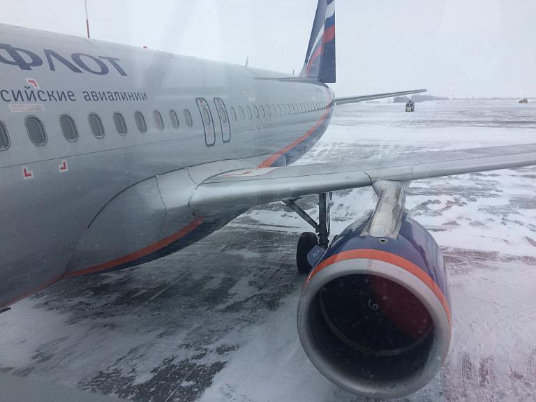 Новогодние каникулы. Перелёт Казань (KZN) - Москва Шереметьево (SVO) c Aeroflot'ом