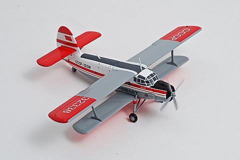 Herpa: модель самолета Ан-2 в масштабе 1:200
