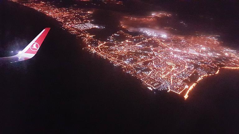 Москва (VKO) - Стамбул (IST) - Дакар (DKR) c