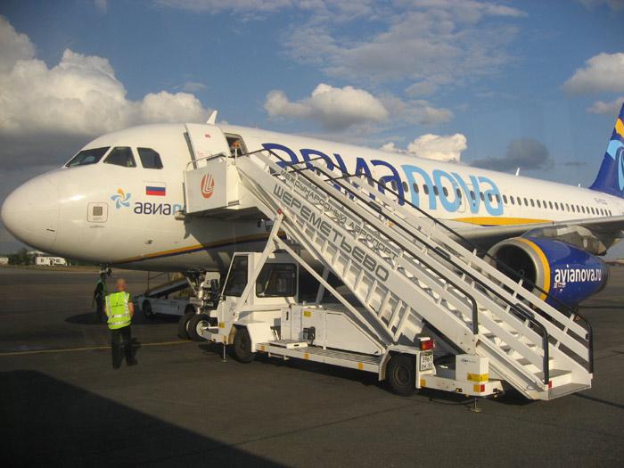 Фотообзор авиакомпании Авианова (Avianova)
